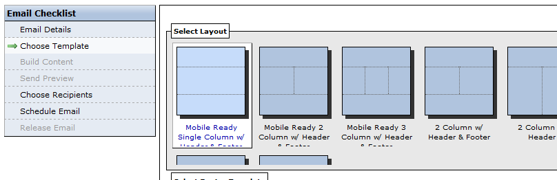 Mobile Ready Email Templates IModules Support Center - 3 column email template